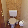 Separates WC direkt gegenüberliegend des ZImmers